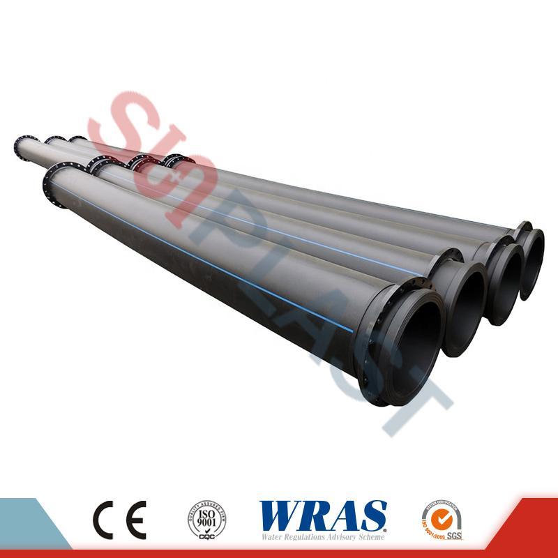 HDPE potrubí s přírubami pro bagr Hornictví