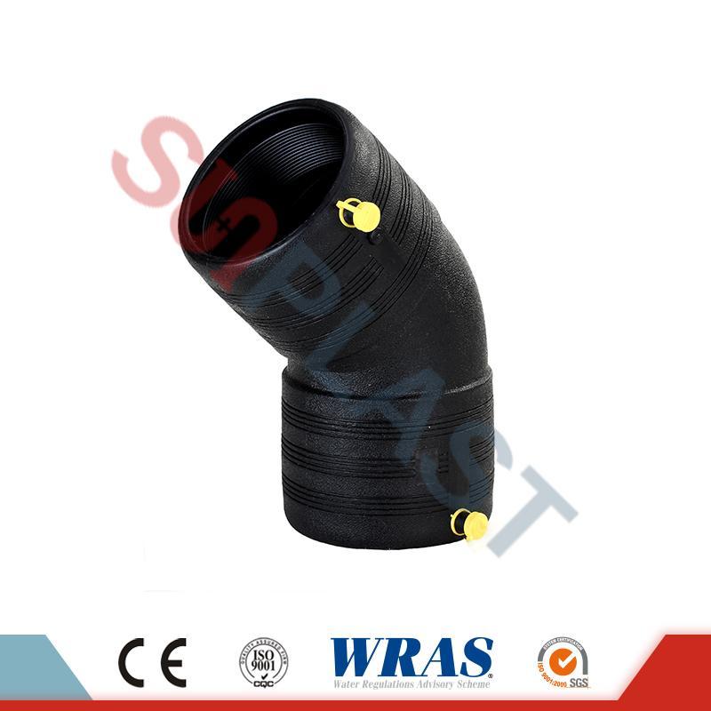 HDPE Elektrofúzní 45 ° lokty