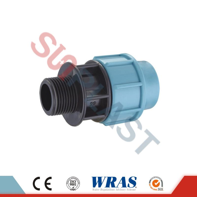PP Compression Male Coupling