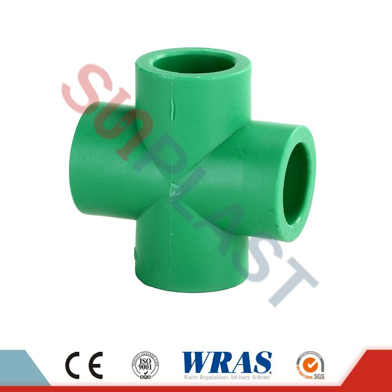 PPR Cross Fittings For Water Plumbing