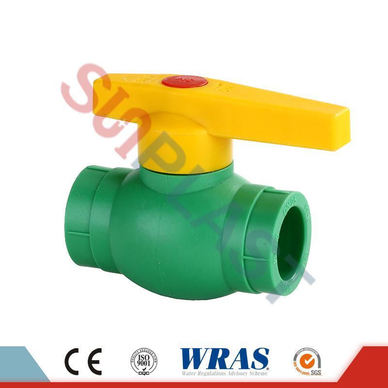 DIN8077 PPR kulový ventil