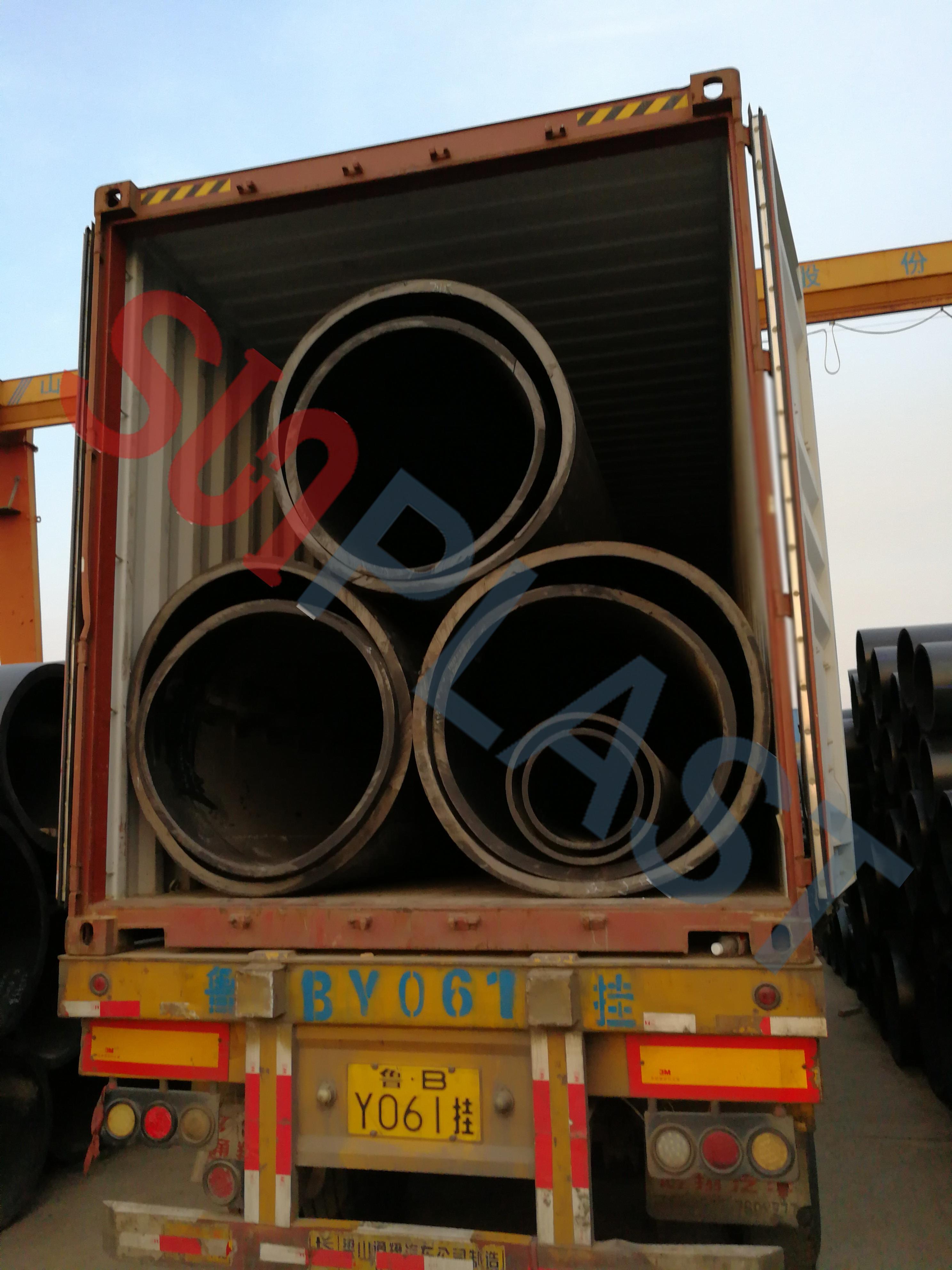 SUNPLAST DN1000 / DN1200mm HDPE potrubí do Austrálie